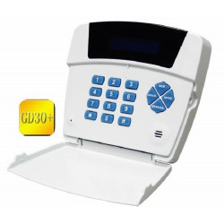GSM and PSTN dialer remote control for boiler gate opener anti-theft alarm