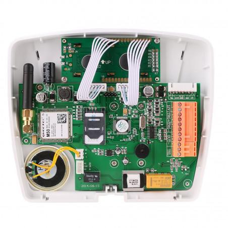 Marcador GSM y PSTN teledirigido para alarma antirrobo del abridor de la puerta de la caldera
