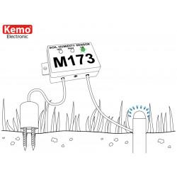 Sensore umidità terreno per irrigazione con sensibilità regolabile e contatto relè uscita