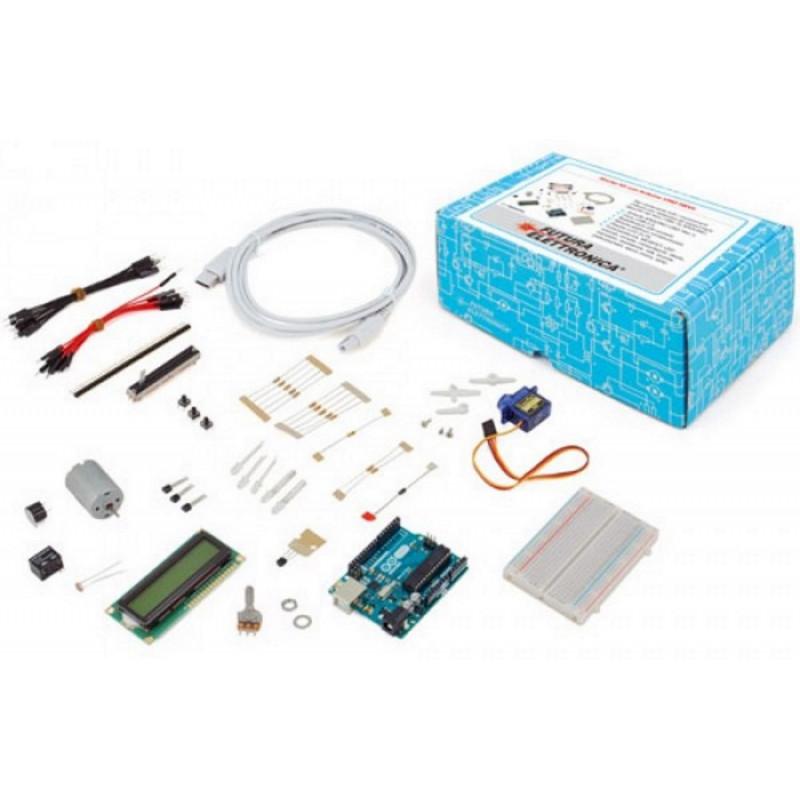 Starter KIT V5 didattica Arduino UNO REV3 accessori esprimenti LCD, Motore, LED