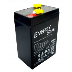 Batteria al piombo ricaricabile ermetica AGM VLRA 6V 4,5Ah uso ciclico e standby