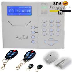 Anti-theft alarm Defender ST-6 Gold wireless 868 wire GSM GPRS LAN WEB APP