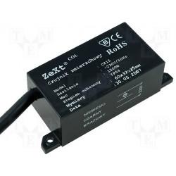 Interruptor de sensor crepuscular 230V 1500W con sensor de fotodiodo