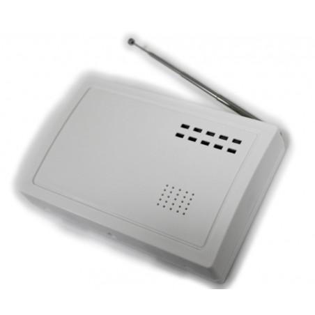 Wireless to wire converter 868 MHz wireless sensors on wired burglar alarm systems