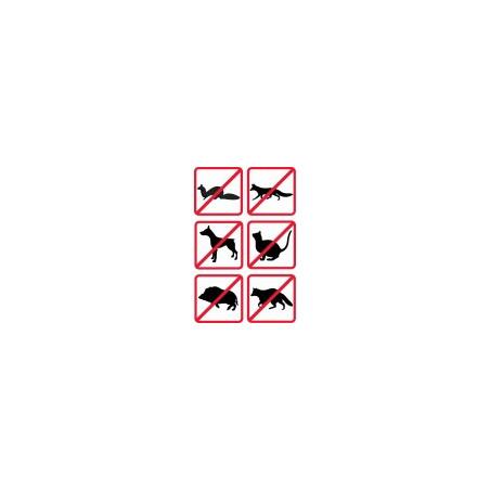 Transducteurs haute puissance répulsifs de brouilleur ultrasonique pour petits animaux 4