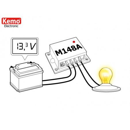 Salva batteria piombo protezione sovra scarica 12V – 24V DC 20A