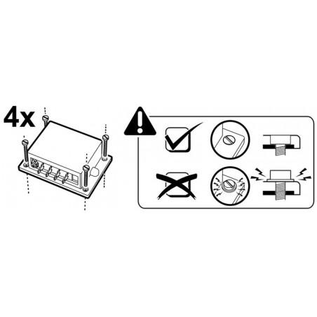 CONTROL DE POTENCIA 110-240V 4000VA para motores, calefactores y bombillas