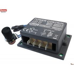 POWER CONTROL 110-240V 4000VA pour moteurs, chauffages et ampoules