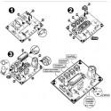 KIT generatore rumore treno a vapore con fischio e campana vapore 5V DC