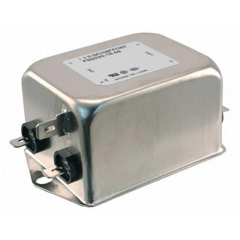 EMI anti-interference mains filter for 250V 16A electronic electrical devices