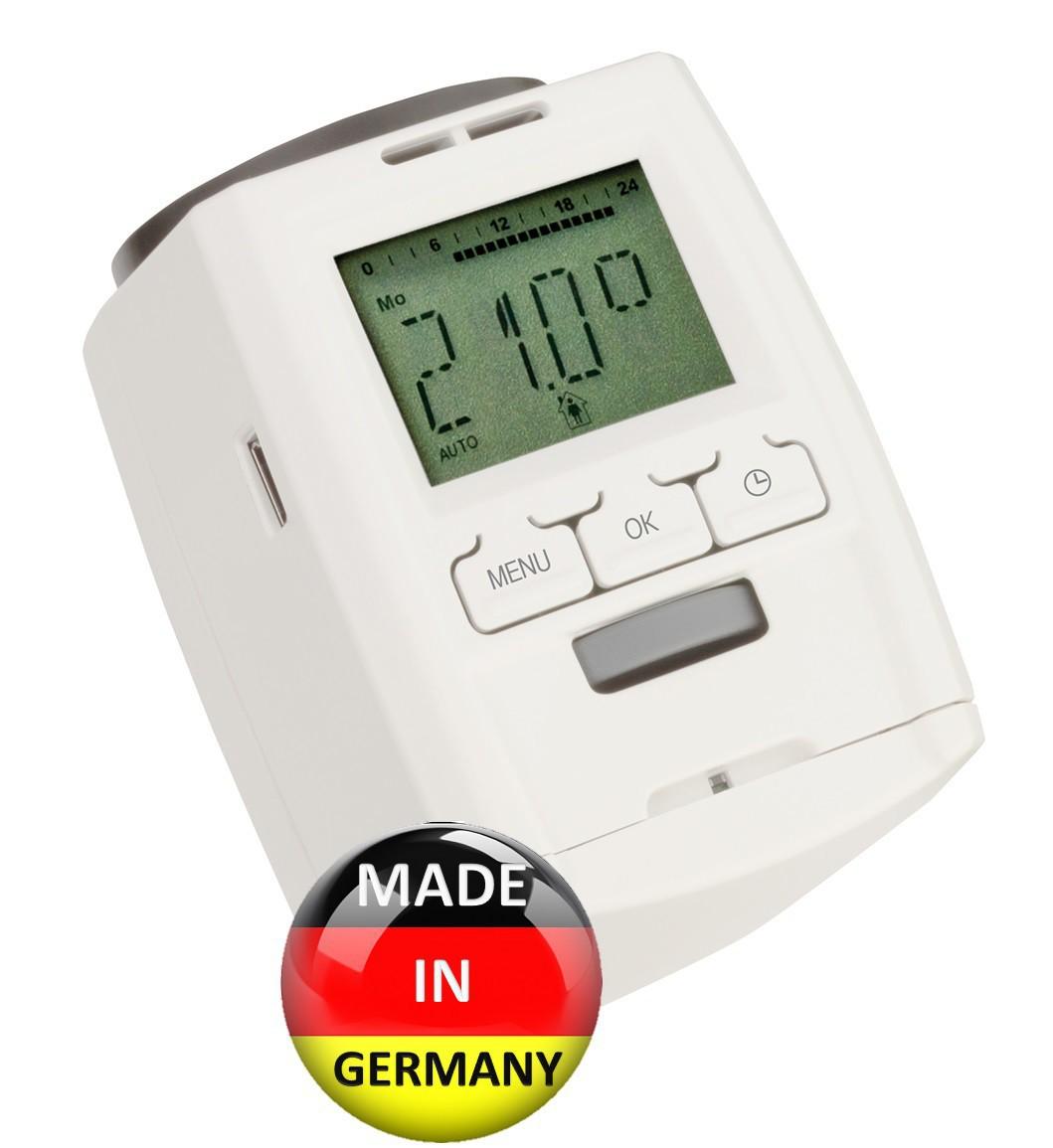 Termostato Digitale A Batterie Radiatori Termostatizzabili Valvole Termostatiche