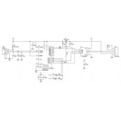 Convertisseur de câble USB RS485 FTDI professionnel pour connexion filaire