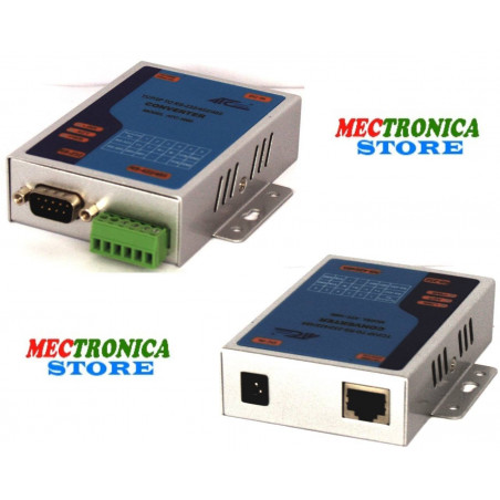 Convertidor Ethernet LAN - Serie RS232 RS485 RS422