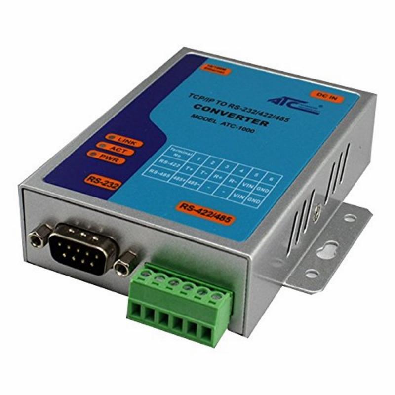 Ethernet LAN converter - Serial RS232 RS485 RS422