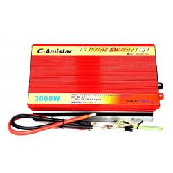 INVERTER AUTO BARCA CAMPER USCITA SINUSOIDALE MODIFICATA 3000W 12V–220VAC+USB