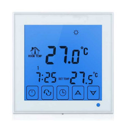 Backlit SMART WIFI TOUCH SCREEN built-in thermostat ANDROID IOS APP