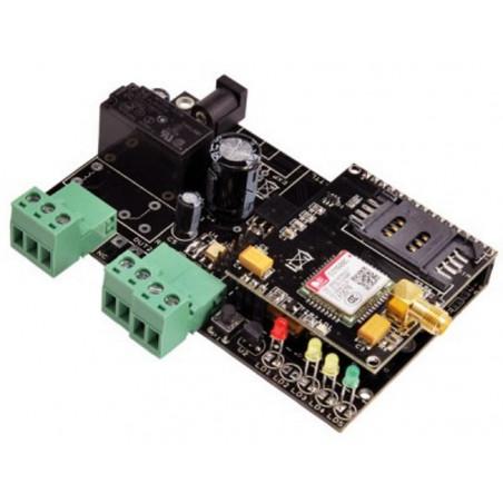 Termostato caldaia con controllo remoto cellulare GSM – SMS e gestione allarmi