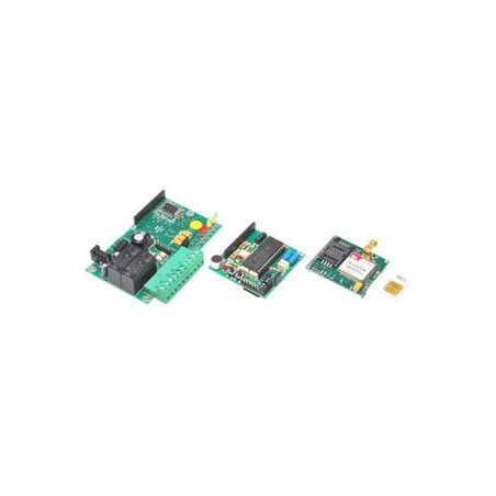 Combinatore telefonico GSM comandi DTMF, SMS, 2 in, 2 out relè TDG135
