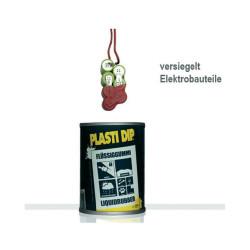 Goma líquida negra Plasti Dip® Tarro de 429 ml Resistencia a los rayos UV y a la atmósfera