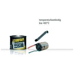 Isolant liquide noir Plasti Dip® 118ml 55000V / mm anti-abrasion avec brosse