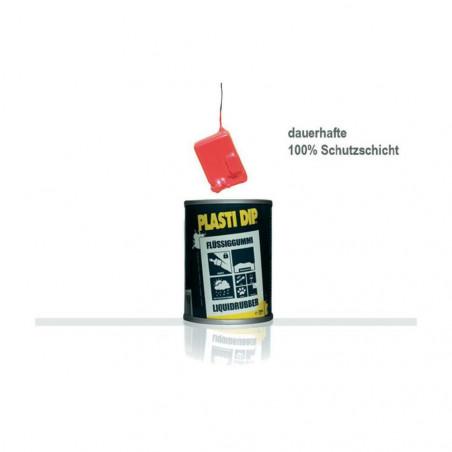 Goma líquida transparente Plasti Dip® Tarro de 650 ml Resistencia a los rayos UV y a la atmósfera