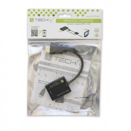 Câble et adaptateur de convertisseur HDMI vers VGA compatibles Raspberry, intégrés, console et PC