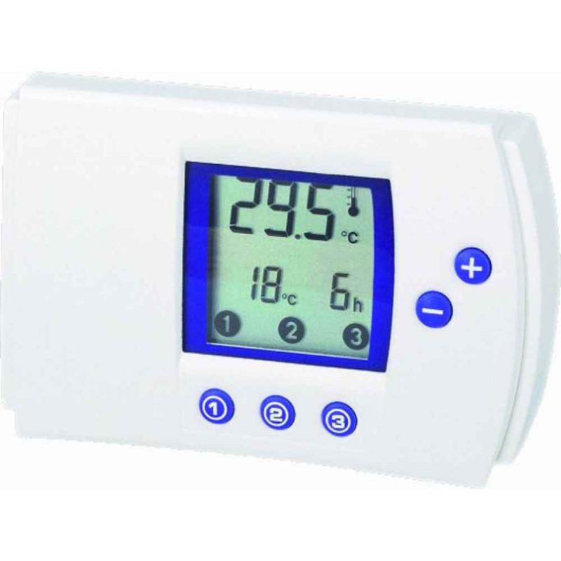 Thermostat de chauffage de climatisation électronique programmable numérique