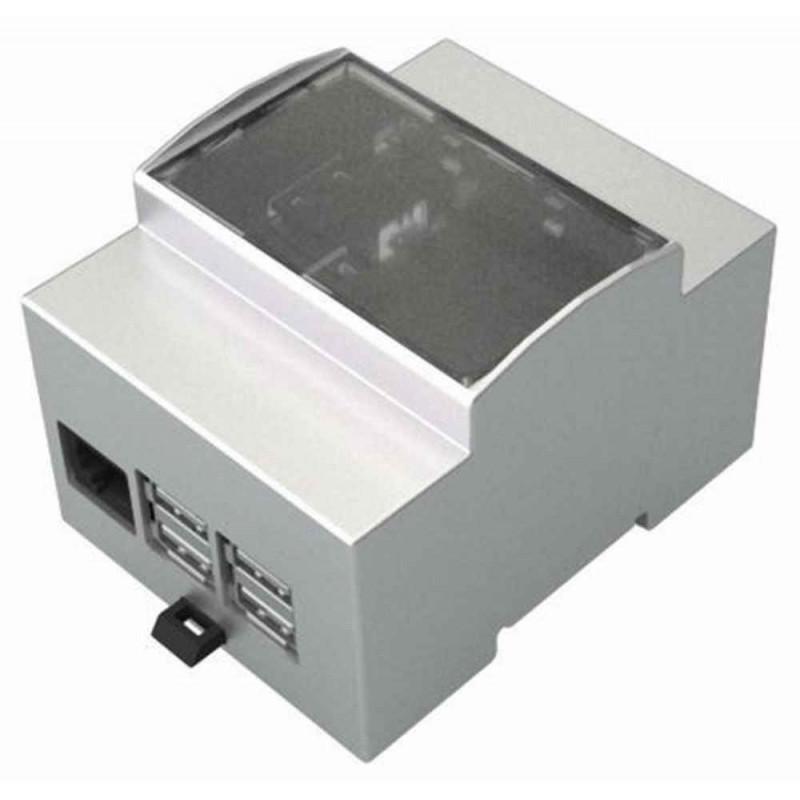 Caja de módulo de panel para Arduino UNO con montaje en carril DIN