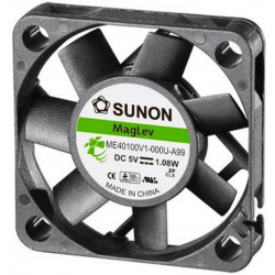 5V DC brushless cooling fan 40x40x10mm 13.59m3h 32dBA MagLev Vapo