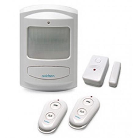 Kit allarme con sensori movimento e finestra combinatore telefonico GSM Avidsen