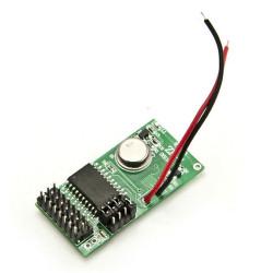 Emetteur TX 1 canal 433.92MHz 12V SC2262 pour radiocommandes et capteurs d'alarme