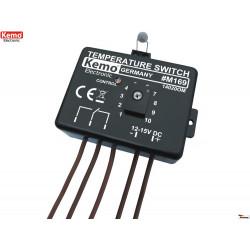 Termostato elettronico caldo freddo range regolabile 0-100C 12-15V DC