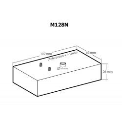 Rilevatore microspie radio RF 100 KHz - 2.4 GHz indicazione LED e batteria