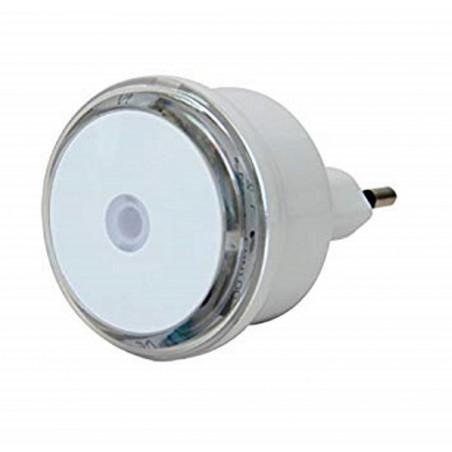 Luce notturna a LED con sensore crepuscolare e spina da 10A Electraline 58307