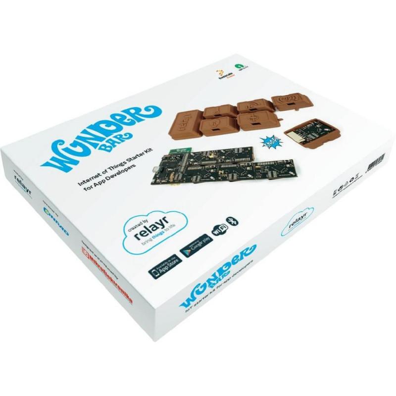 Kit de démarrage pour capteur WiFi et Bluetooth Internet des objets WunderBar