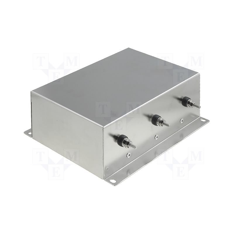 Filtro de red trifásico EMI para dispositivos eléctricos electrónicos 250V 10A