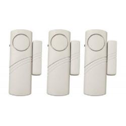 SET 3pz Allarme senza fili per porte e finestre alimentazione a batteria