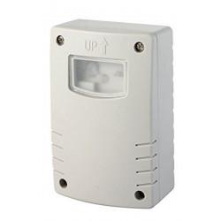 Interruttore Crepuscolare Programmazione Notturna Timer Uso Esterno Ip44, Bianco