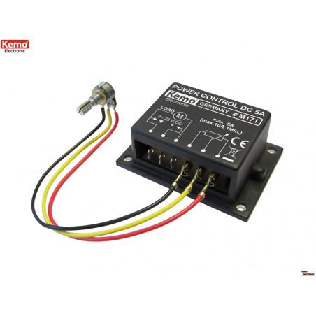 CONTROLLO POTENZA PWM 9-28V DC 10A per motori, riscaldatori e LED