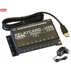 Interfaccia 8 relè USB PC con software avanzato gestione personalizzabile e esempio