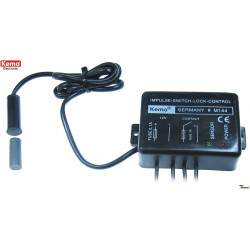 Sensore magnetico porta finestra serrature contatto impulsivo 12V DC relè