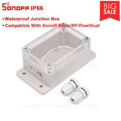 Case contenitore ABS impermeabile IP66 trasparente per Sonoff Switch