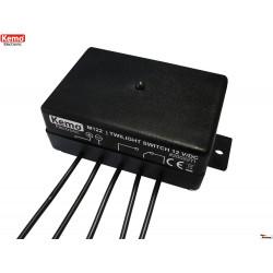 12V DC external internal twilight sensor switch relay output