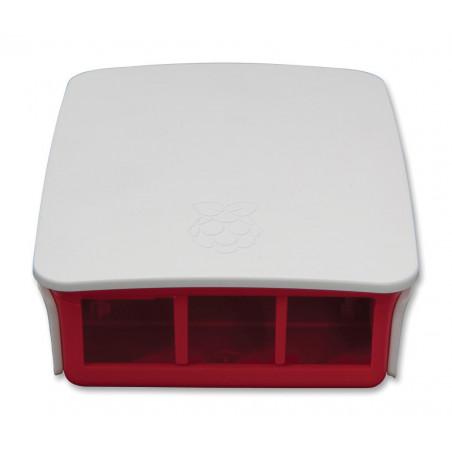 Case contenitore plastico ufficiale per Raspberry PI 3 model B coperchio removibile
