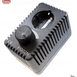 POWER CONTROL adjustable schuko socket 230V AC motors heaters bulbs