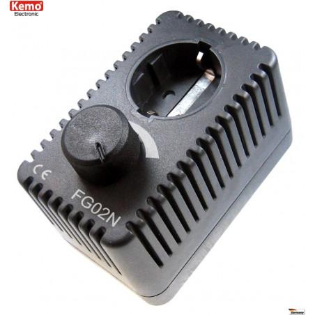 POWER CONTROL enchufe schuko ajustable 230V AC motores calentadores bombillas