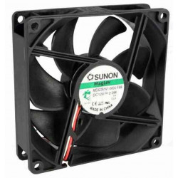 12V DC brushless cooling fan 92x92x25mm 87.55m3h 34dBA 3 wires
