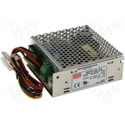Alimentatore switching 27,6V 1,4A SCP-35-24 UPS batteria BACKUP