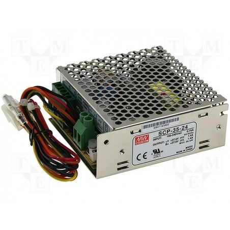 Switching power supply 27,6V 2,7A SCP-75-24 UPS battery BACKUP
