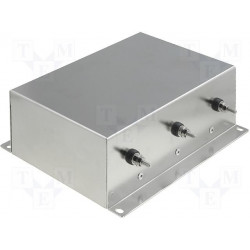 Three-phase EMI network filter for electronic electrical devices 250V 10A